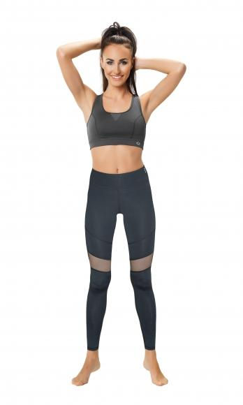 Slimming Leggings with Mesh Panels