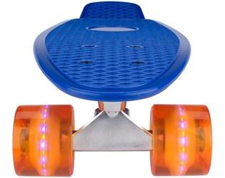 Pennyboard NIJDAM LED blue