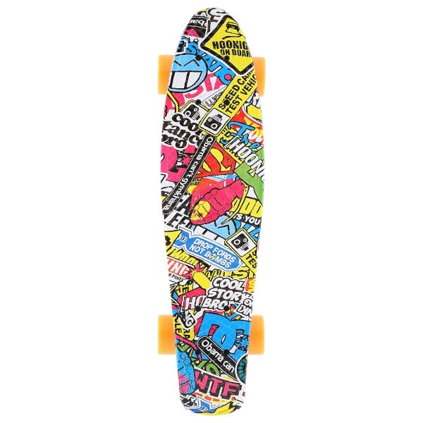 Pennyboard NILS Art Graffiti 1